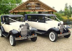 #HisAndHers antique cars for your special day