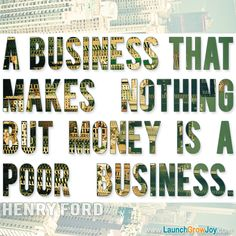 Great quote from Henry Ford