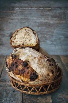 Italian Bread with chocolate Best Bread Recipe, Easy Bread Recipes, My Daily Bread, Spoon Bread, Rustic Bread, Pan Dulce, Ciabatta, Pie Dessert, Sourdough Bread