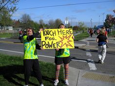 20+Great+Marathon+Spectator+Signs. Had to share this, as I was flipping through each photo says where it is from. This one was on the Eugene Marathon route!