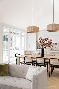 Dining Room Inspiration, Home Decor Inspiration, Modern Dinning Room Ideas, Modern Dining Room Chairs, Chairs For Dining Table, Daining Table, Diningroom Ideas, Mismatched Dining Chairs, Modern Room