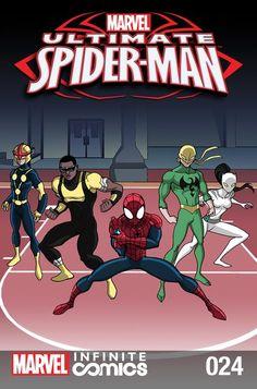 Ultimate Spider-Man Infinite Comic #24 – GetComics
