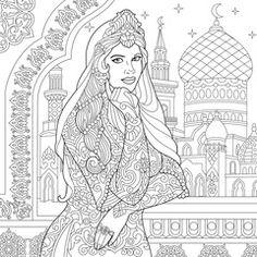 Resultado De Imagem Para Hidden Egypt Coloring Book
