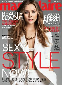 Marie Claire Snags Five Major 'It' Girls for Its May Covers: Elizabeth Olsen