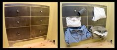 Mark Moskovitz - magnetic dresser. Ideal for the person who tosses their clothes on the floor.