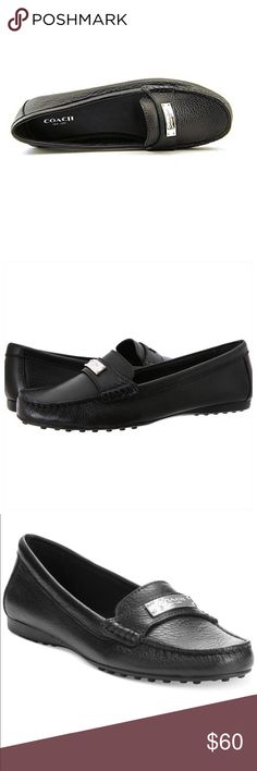 NWOB COACH 'Frederica' loafer! Leather Loafer Style Flat Product information 8.5 B(M) US , Black Product Dimensions	12.3 x 6 x 4.3 inches Item Weight	12 ounces Shipping Weight	1.7 pounds Department	womens ASIN	B00FXYR79A Manufacturer reference	A5175-001 Coach Shoes Flats & Loafers