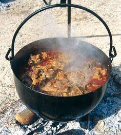 Tradicional caldereta de cordero #Pinares #Spain