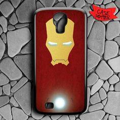 Iron Man Body Red Vector Samsung Galaxy S4 Black Case