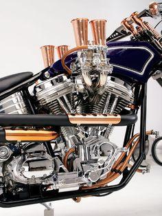2006 Custom Design Studios Split Tail engine