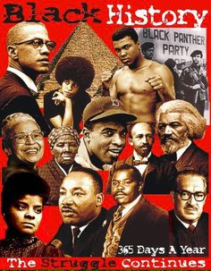 Black History, can u name these Amazing expressions of Human life?