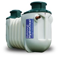 Balmoral HydroClear 6 - Award winning sewage treatment plant for up to 6 person dwelling