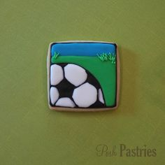 Soccer by Posh Pastries.