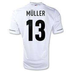 MULLER Home Germany Soccer Jersey 2011-2012