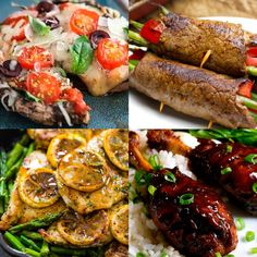 27 Delicious, Easy Meals With 5 Ingredients or Less, some of these are low carb with minimal changes or no changes at all!