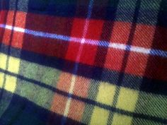 Vintage West of England All Wool Plaid Blanket 53 x by melampode, $46.00