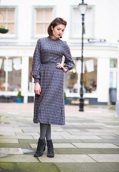 Vintage 1970s Jumper Dress £35.00