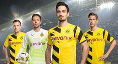 New Borussia Dortmund 14-15 Kits Released - Footy Headlines