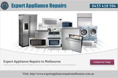 Whether you are a homemaker or a gourmet chef in some restaurant, you know the struggle of dealing with appliance breakdown and you will certainly want someone to address them immediately. Expert Appliance Repairs offers prompt electric oven repairs, fridge repairs and dishwasher repairs in Melbourne. We also specialize in washing machine repair and several other commercial and household appliances of this kind. Give us a phone call to avail of prompt repair assistance anywhere in Melbourne.