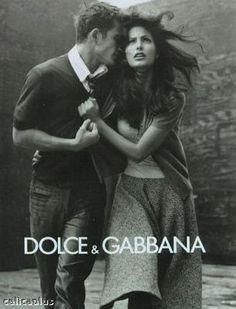 Early 90s DOLCE&GABBANA campaign - I love this! fashion advertisement dolce gabbana