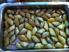 Frutos del mar y de la costa de Huelva.