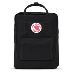 Fjallraven Kanken Backpack in Black. This Scandinavian company has produced classic go-to bags since it debuted in 1978. Perfect for school, day trips, or biking to work; the Kånken makes a lifelong c