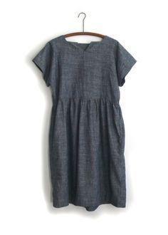 field dress / blue chambray | STATE