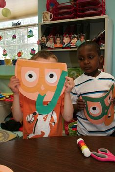 Summer or Ocean Theme_ JB Snorkelson! Working with the letters J and B - students come up with beach themed words that start with J or B then make a Snorkeling friend (JB Snorkelson) out of J and B. Activity promotes fine motor control, following directions, and letter sounds