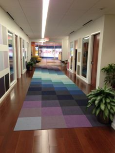 FLOR / Made You Look   Multiple Colors / Benjamin Moore Corporate Office /  Montvale,