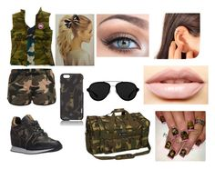 """""""Wear Em Out"""" by miaisable ❤ liked on Polyvore featuring Ashish, Tumi, Ash, Canada Goose, Everest, 3.1 Phillip Lim and LASplash"""