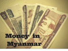 The latest information on the issue of money in Myanmar. No, you do not need to bring thousands of US dollars with you! Here are the things you need to know. #myanmar #money #traveltips