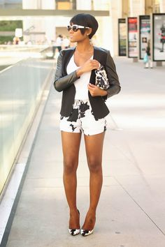 The Daileigh: Cow Print Classy Outfits, Casual Outfits, Cute Outfits, Southern Fashion, Evening Outfits, Autumn Street Style, Black Girl Fashion, Love Her Style, College Fashion