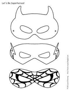Resultado de imagem para molde mascara do flash