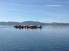 Islas uros, lago titicaca, peru