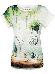 Es grünt so grün… Ein Stück Frühlingsfrische zum Anziehen. #Mode #Shirt