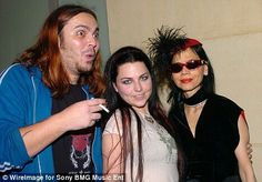 Amy lee and Shaun morgan