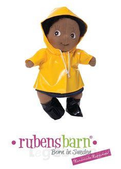 Rubens Cutie tøj - Rainy day - 3 dele.