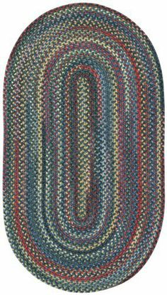 Capel Rugs High Rock Braided Rug - Blue Size - 5 x 8 ft. Oval by Capel Rugs. Save 30 Off!. $393.75. Contemporary Style. Rug is Made to Order, ships within 1 to 3 weeks. Hand Braided Wool (34%), Nylon (33%) and Polyester (33%), Made in USA. Dimensions: 5' x 8' Oval. The Capel Rugs High Rock Braided Rug - Blue is a mix of vintage and modern, classic and beautiful. A lovingly braided rug made of a wool blend that combines alluring natural colors with exquisite texture, it's reversible for lo...