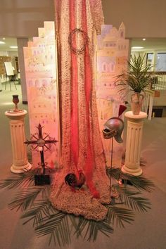 Visual Arts in Holy Week- Orchard Hill Church (Palm Sunday)