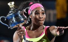 Serena, ambiciosa, ya piensa en París +http://brml.co/1Dhowys