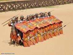 Legionarios romanos.