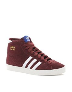 differently b470e 710c9 ASOS Adidas Origianls Basket Profi Sneakers at ASOS. Find more detail on