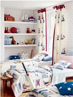 Nautical Decor Ideas for Young Sea Lovers Dreaming in Boys Bedrooms