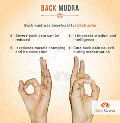 Back mudra is beneficial for backache – acupressure points Acupressure Treatment, Acupressure Points, Yoga Information, Hand Mudras, Hand Reflexology, Yoga Mantras, Chakra Meditation, Meditation Music, Yoga Benefits