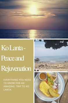 Ko Lanta - Peace and Rejuvenation - The Neverending Honeymoon Beach Look, Beach Fun, Ko Lanta, Out To Sea, Getting Up Early, Happy Reading, Time Out, Travel Deals, Phuket