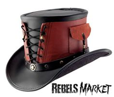 steampunk corseted top hat
