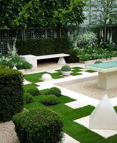 Jardim geométrico
