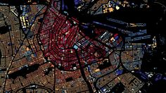 Trippy Map of Every Single Building in The Netherlands