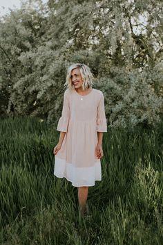 Meredith Blush Midi | ROOLEE