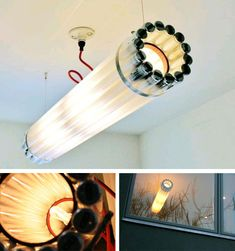 Recycled Light Fixture Design