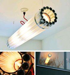 Recycled Light Fixture Design